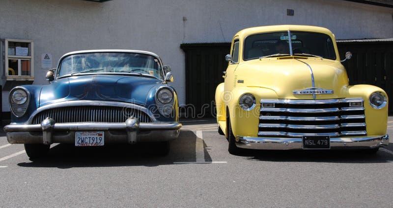Автомобильная американа 2 американских горячих штанги стоковое изображение
