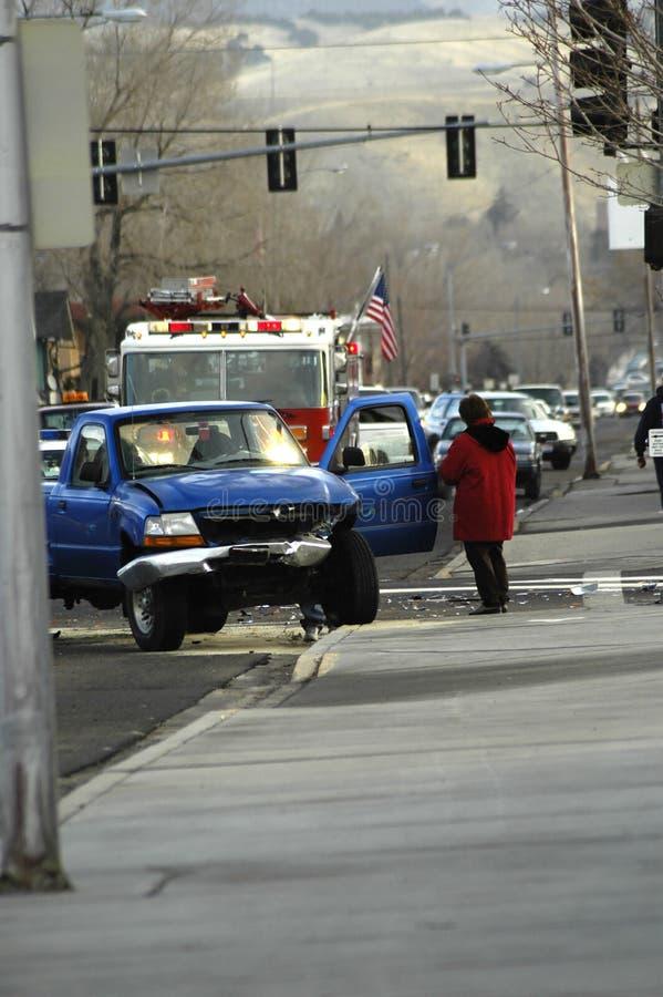 автомобильная катастрофа стоковая фотография