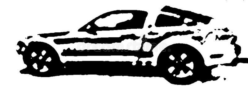 Автомобильная промышленность приспосабливается к временам стоковое изображение