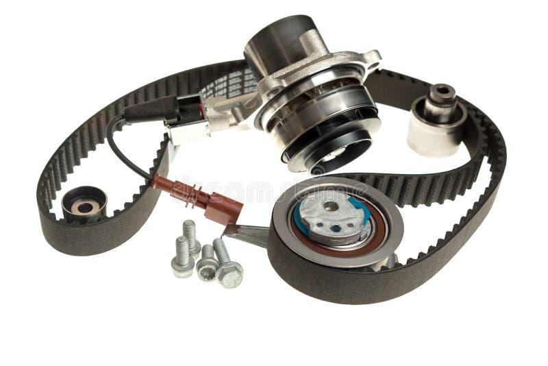 Автомобильные части tensioners пояса времени комплекта для ремонта водяной помпы стоковые фото