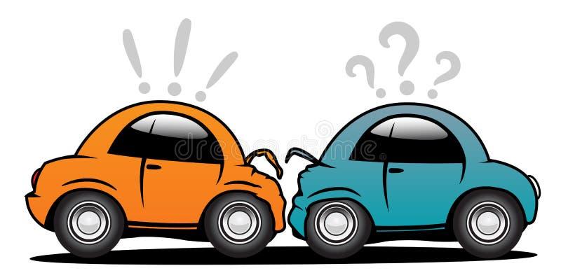 автомобиль аварии бесплатная иллюстрация