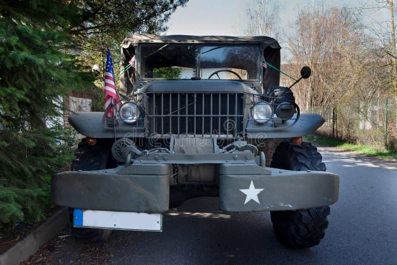 Автомобиль армии США военный стоковая фотография rf