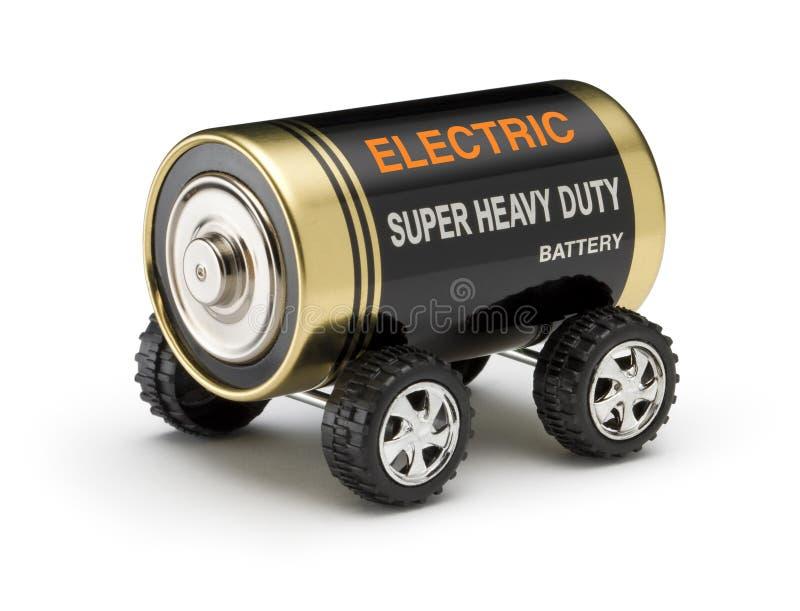 автомобиль батареи электрический стоковая фотография rf