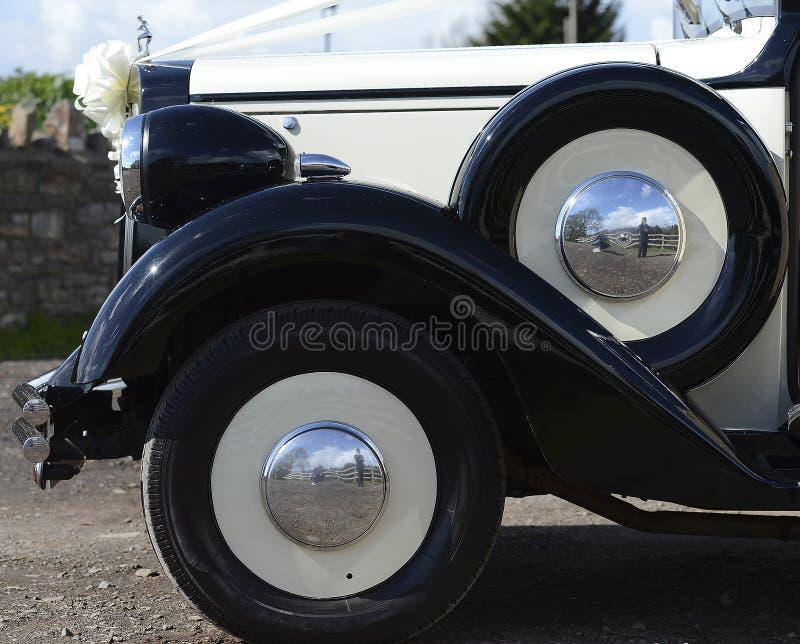 Автомобиль венчания стоковое изображение