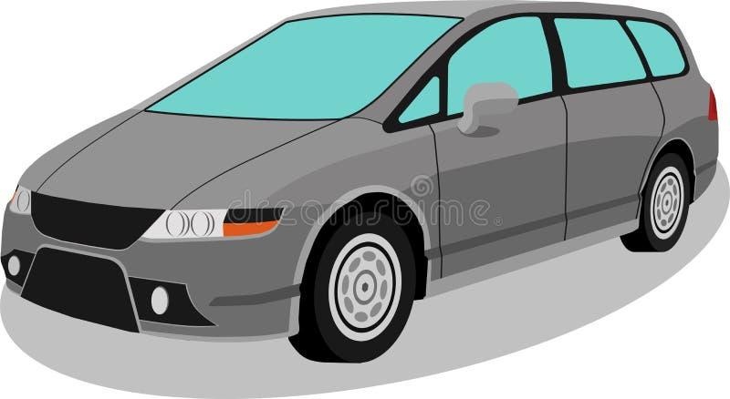 Автомобиль в изоляте пастельного цвета стоковые фото