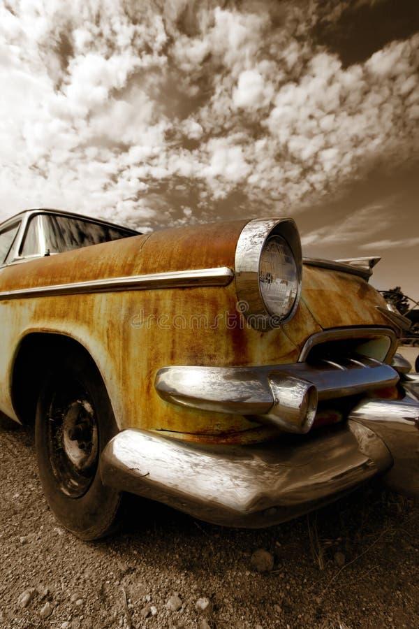 автомобиль деревенский стоковые изображения rf