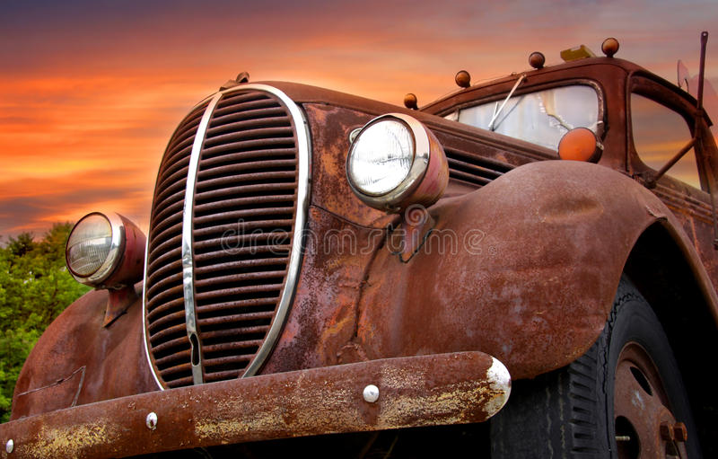 автомобиль деревенский стоковые фотографии rf