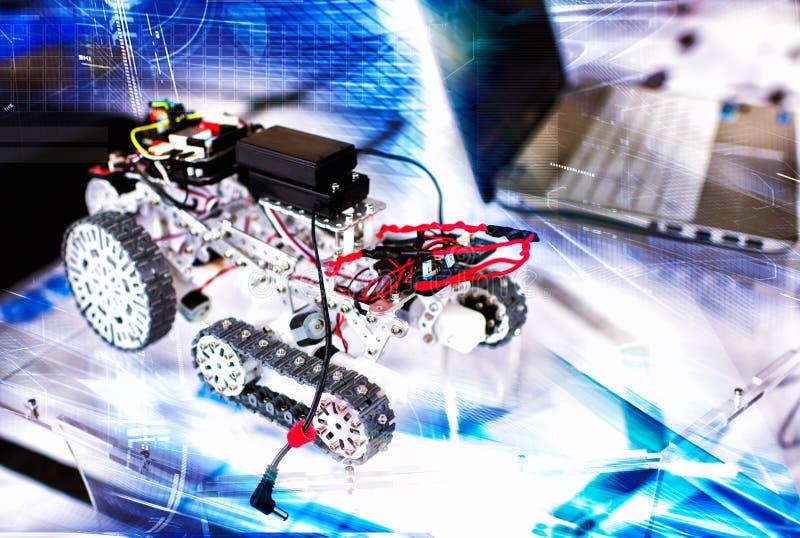 Автомобиль дистанционного управления стоковое фото