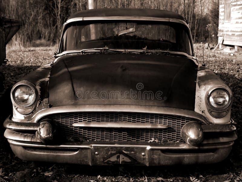 автомобиль затрапезный стоковая фотография
