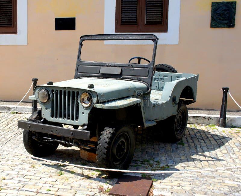 Автомобиль имеемый Ernesto Че Гевара. стоковое изображение rf