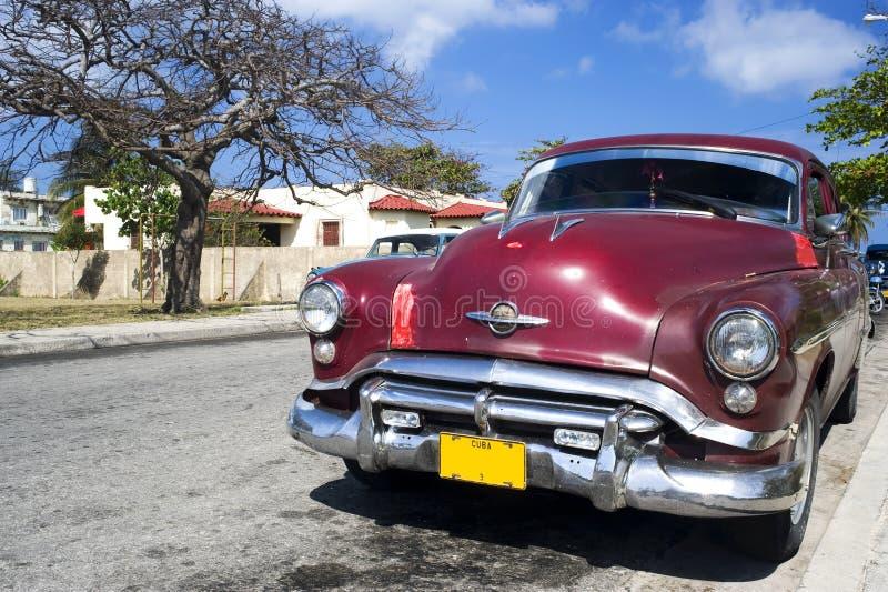 автомобиль Куба старый varadero стоковое фото rf