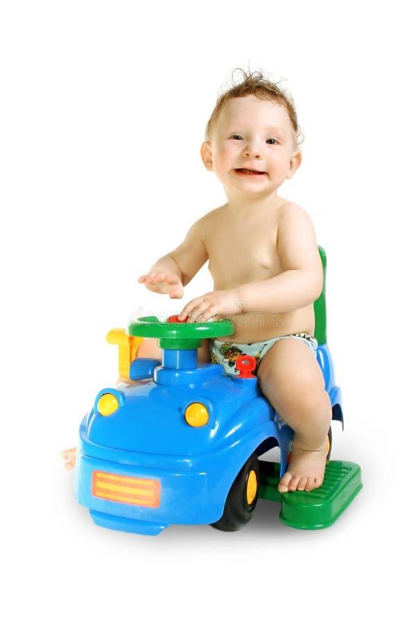 автомобиль мальчика стоковые фото