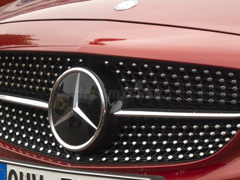 Автомобиль Мерседес-Benz стоковое фото rf
