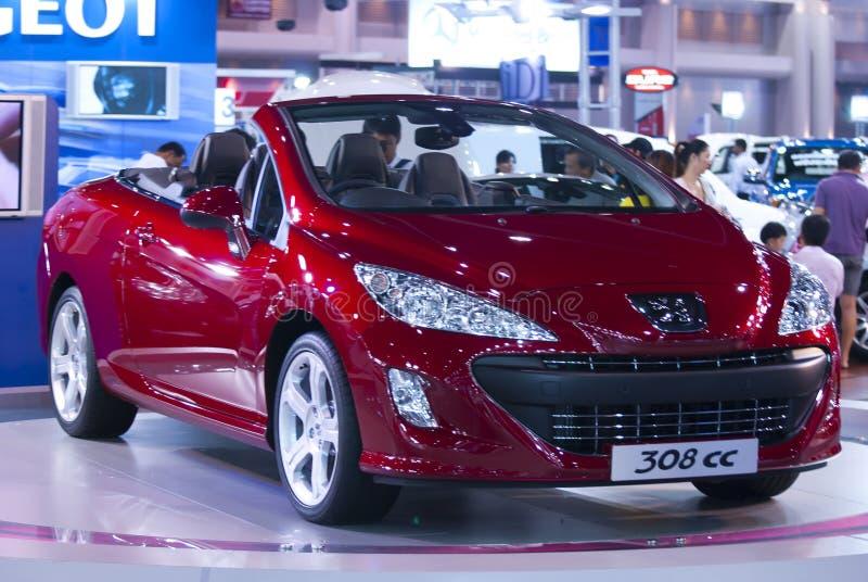 Автомобиль на экспо мотора Таиланда международном 4-ое декабря 2009 стоковые фотографии rf