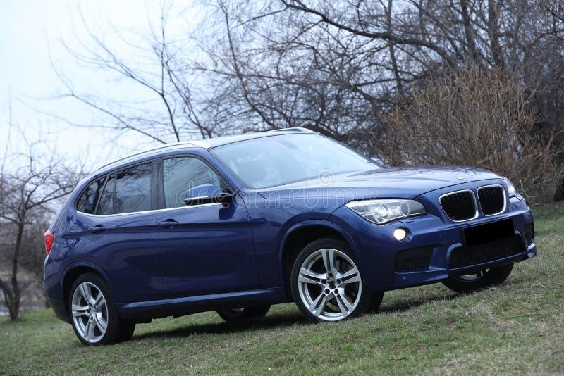 автомобиль новый стоковая фотография rf