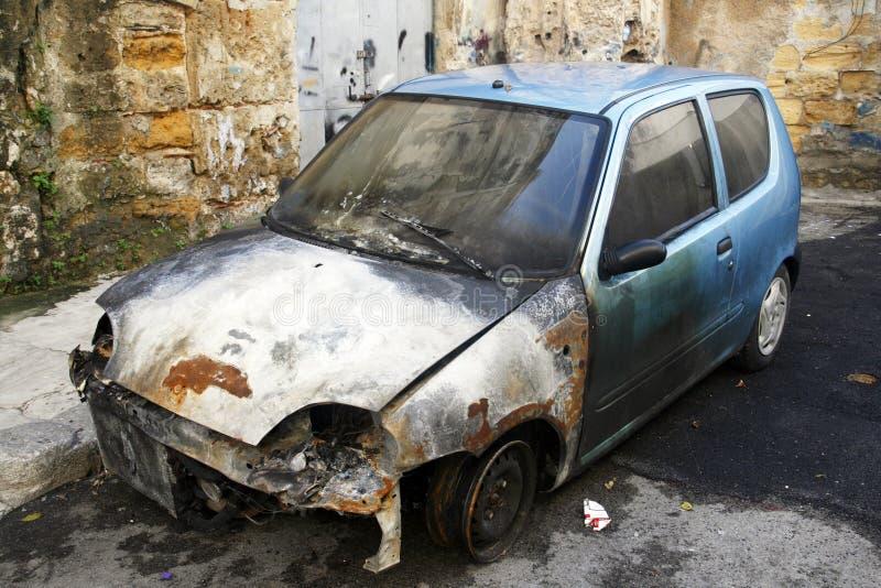 автомобиль опустошил стоковая фотография