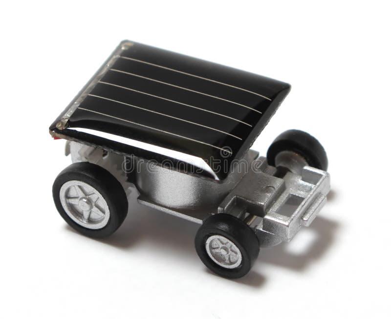 автомобиль привел солнечную игрушку в действие стоковое фото rf