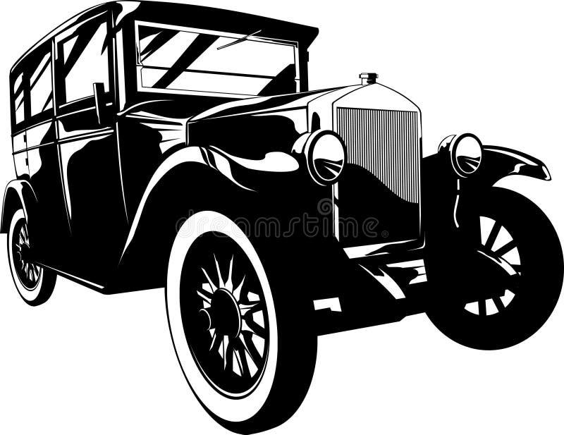 автомобиль ретро бесплатная иллюстрация