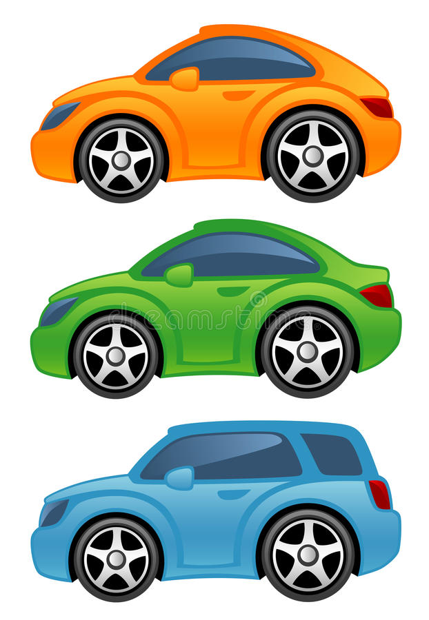 автомобиль смешной иллюстрация вектора