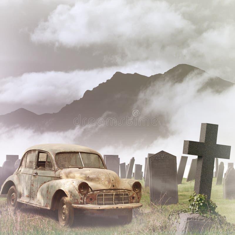автомобиль старый стоковые изображения rf