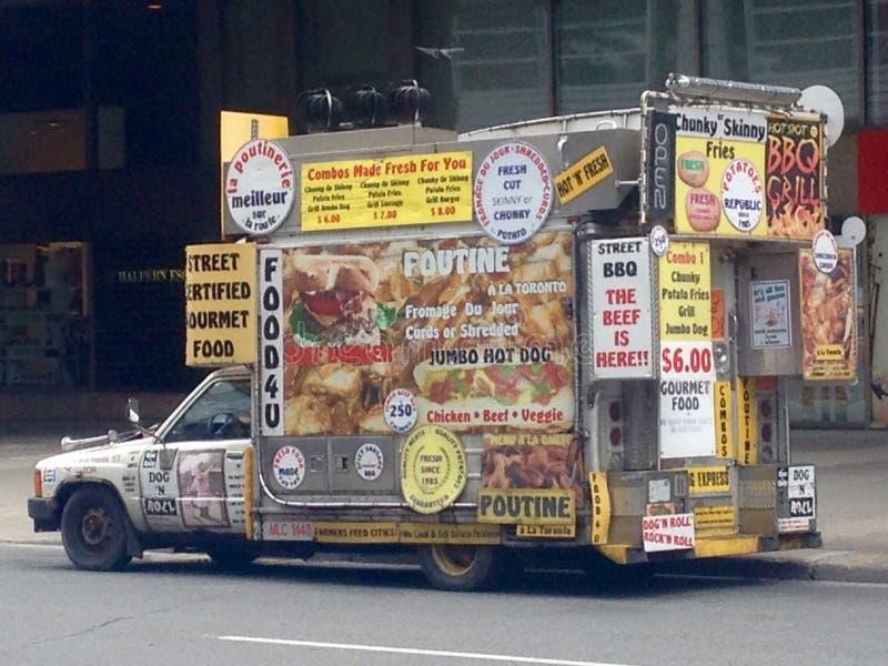 Автомобиль фаст фуда стоковая фотография rf