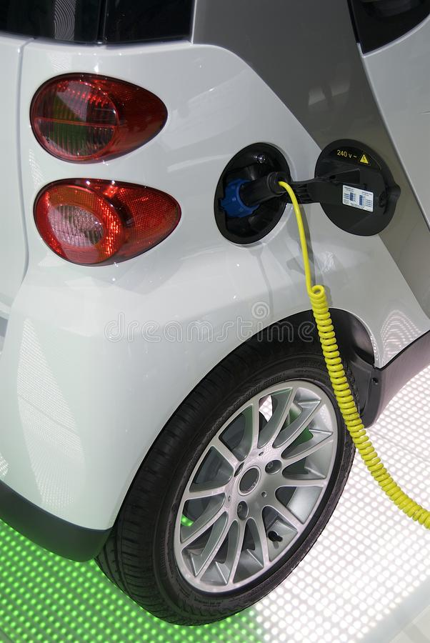 автомобиль электрический стоковая фотография