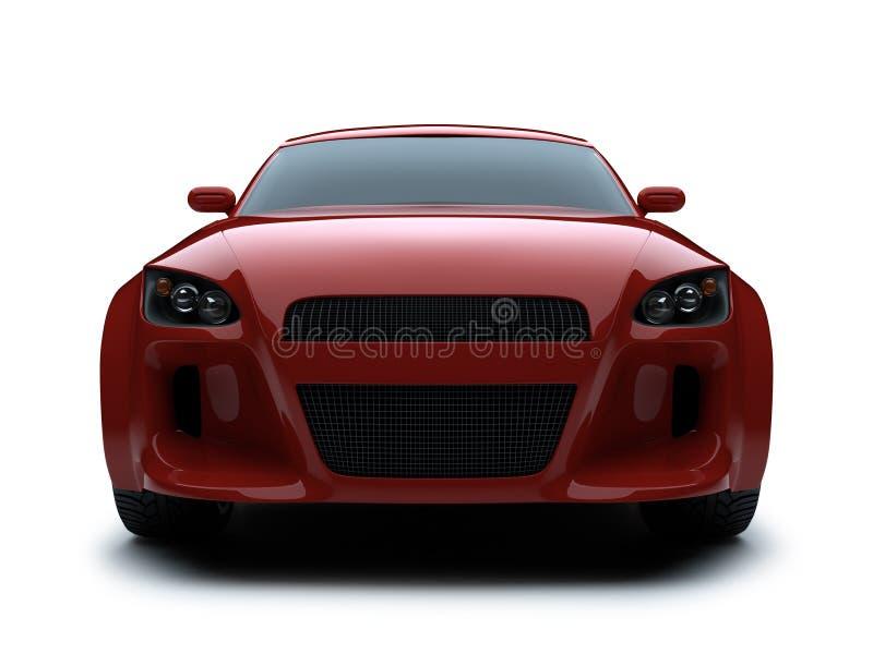 автомобиль 3d представляет спорт иллюстрация штока