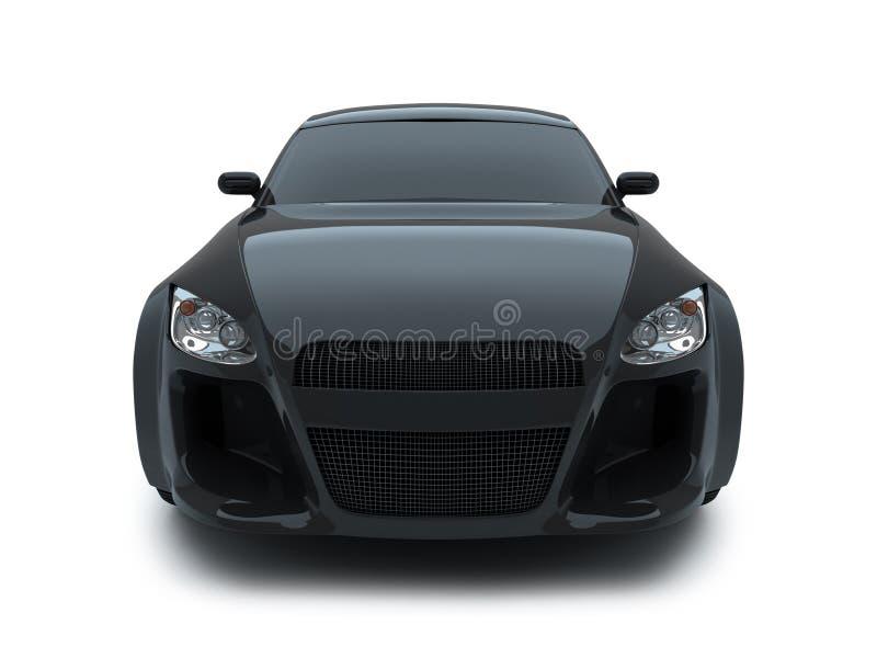 автомобиль 3d представляет спорт иллюстрация вектора