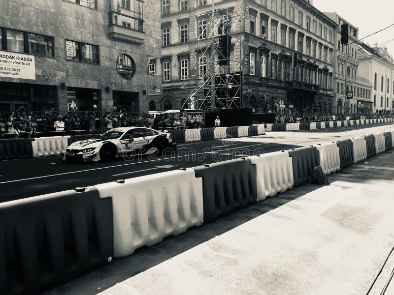 Автомобиль BMW DTM стоковые изображения