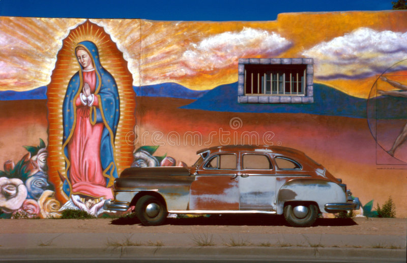 автомобиль guadalupe стоковые фотографии rf