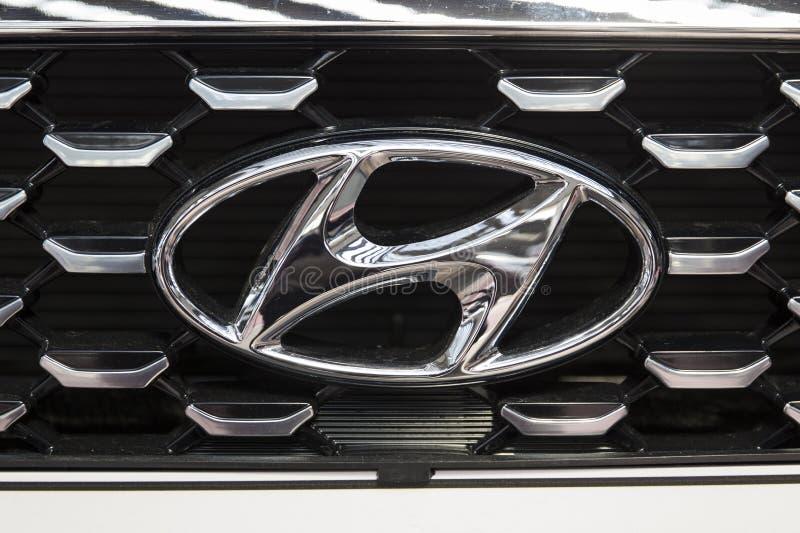 Автомобиль Hyundai стоковое изображение rf