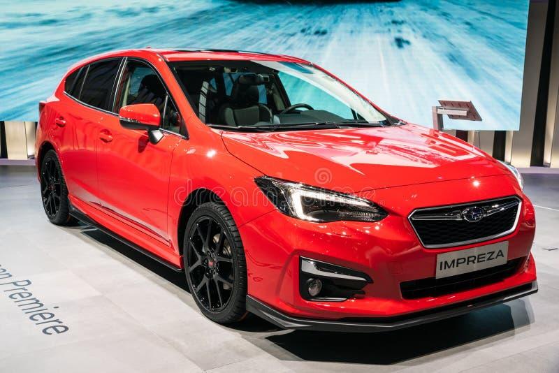 Автомобиль Subaru Impreza стоковые изображения