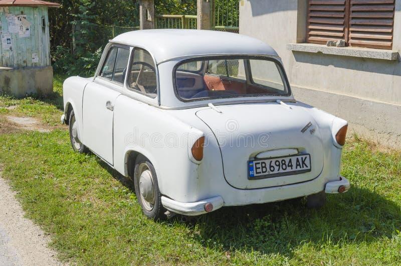 автомобиль trabant стоковое изображение