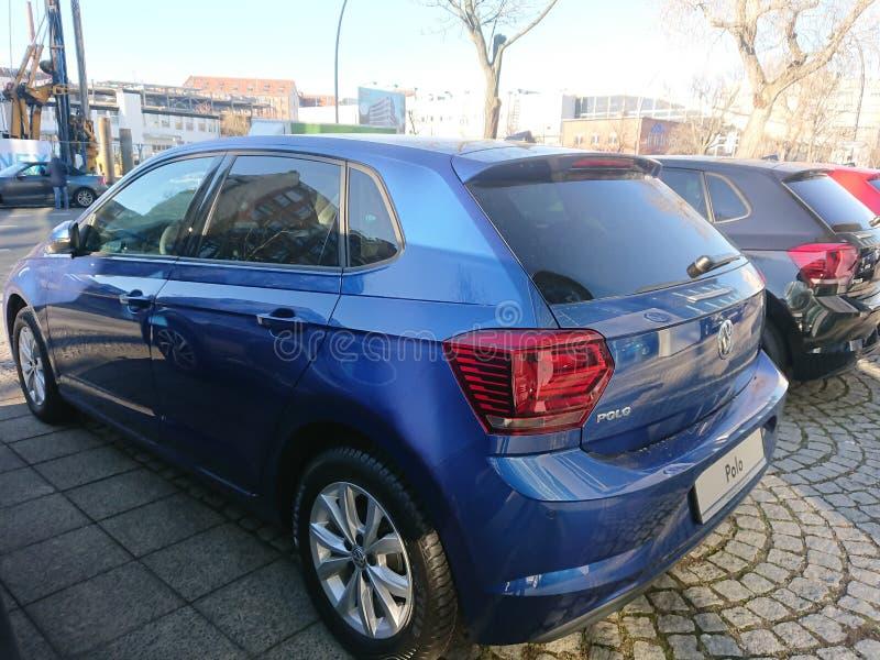 Автомобиль Volkswagen Polo стоковые изображения rf