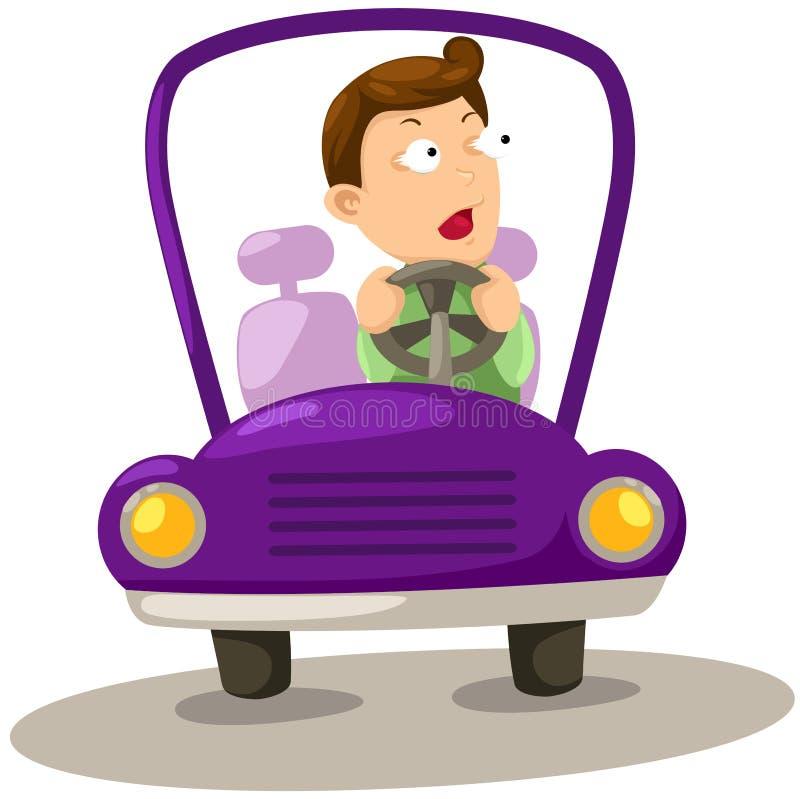 автомобиля управлять человек бесплатная иллюстрация