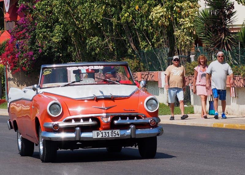 Автомобили Варадеро Кубы стоковые фотографии rf