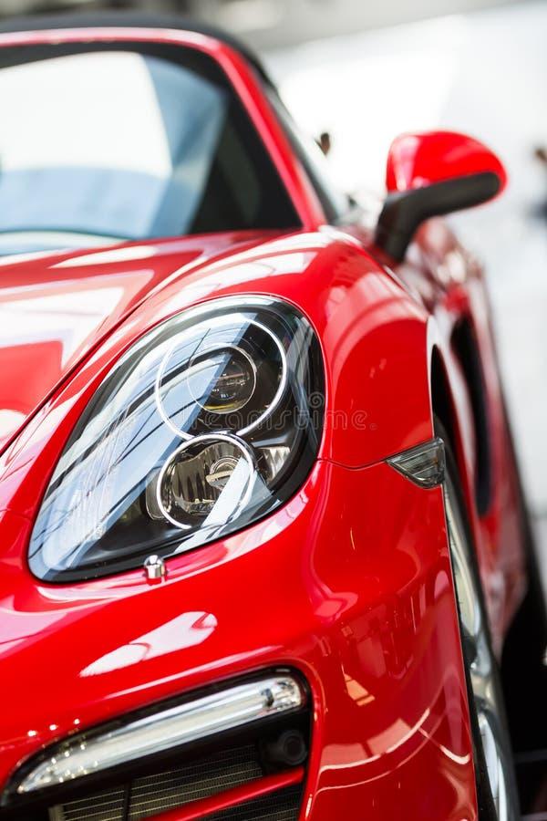 Автомобили Порше для продажи стоковая фотография
