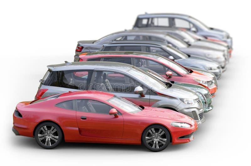 автомобили предпосылки белые стоковое фото rf