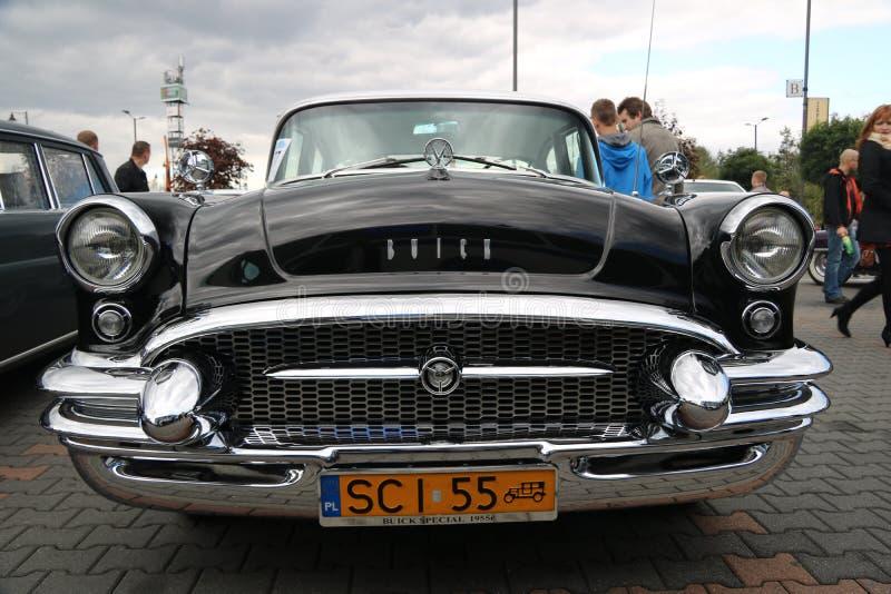 Автомобили Myslowice Польша 2015r ралли VI стоковое изображение rf