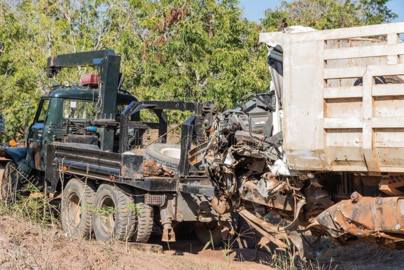 Автомобильная катастрофа спасения имущества стоковые изображения rf