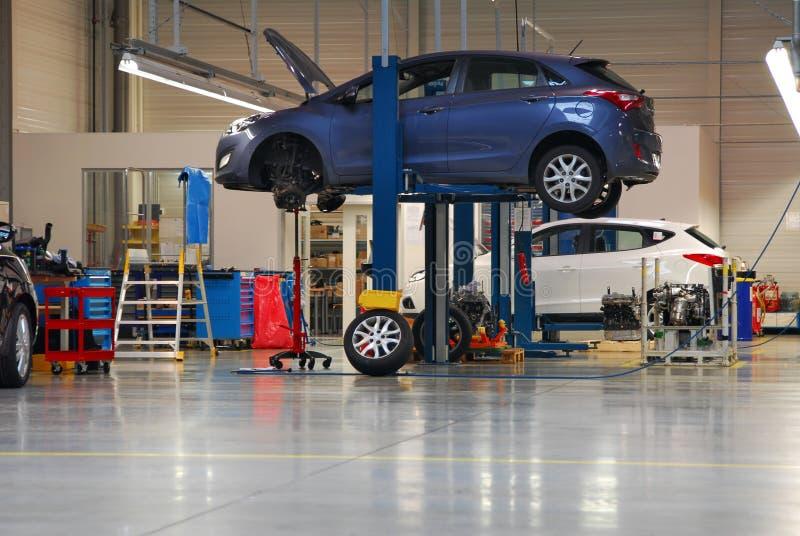 Автомобильное обслуживание стоковое изображение rf