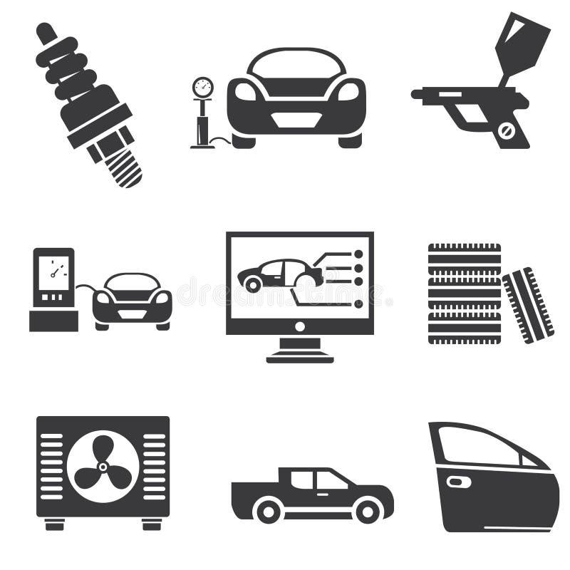 Автомобильные значки бесплатная иллюстрация