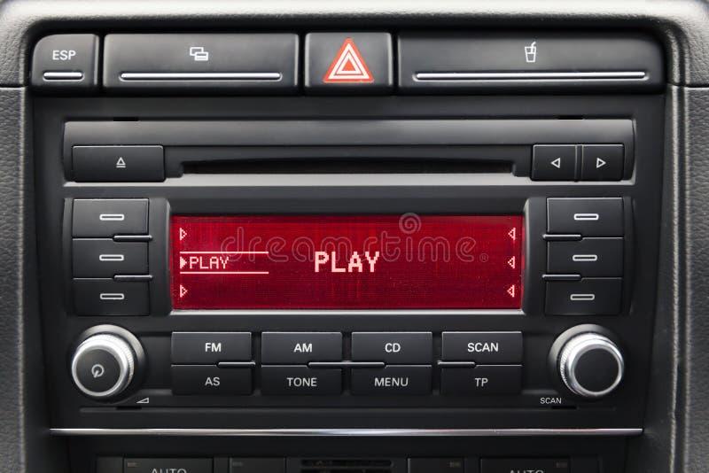 Автомобильный радиоприемник бесплатная иллюстрация