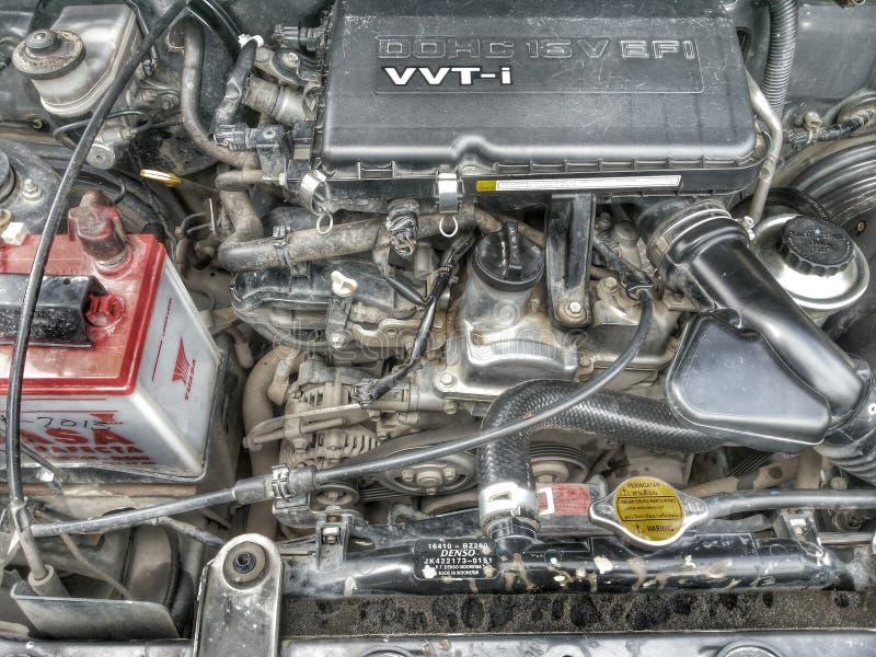 Автомобиль двигателя стоковая фотография