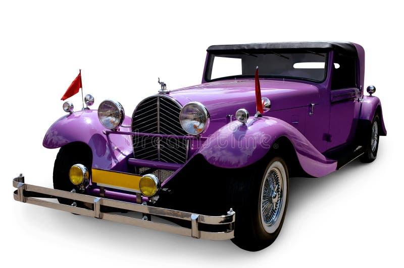 Автомобиль восстановленный классикой изготовленный на заказ винтажный стоковые фотографии rf