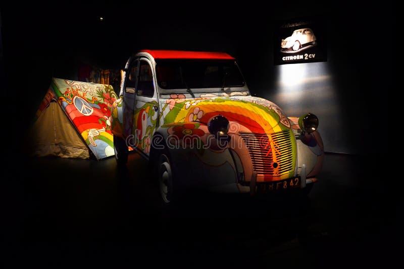 автомобиль года сбора винограда 2cavalli стоковое изображение rf