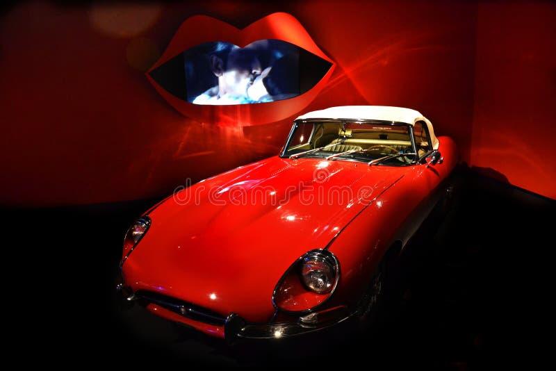 Автомобиль года сбора винограда Romeo стоковые изображения rf
