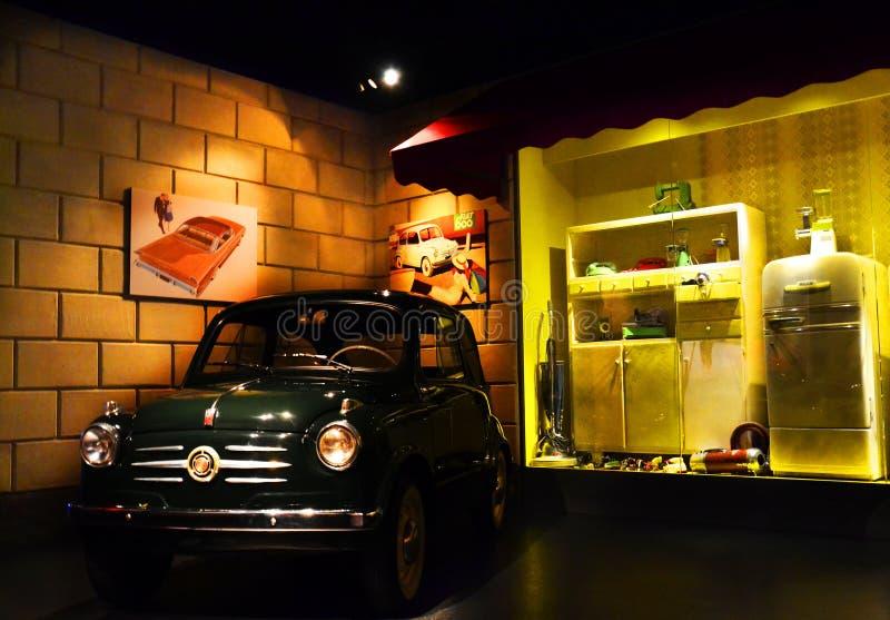 Автомобиль 600 годов сбора винограда стоковое фото rf