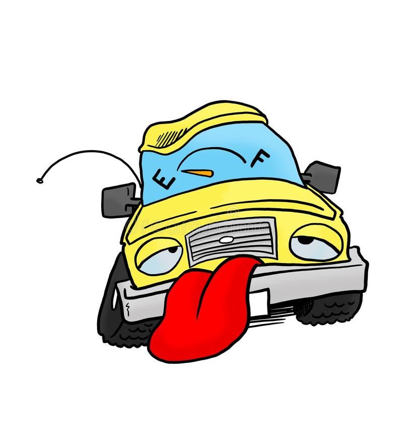 Автомобиль из топлива стоковое фото rf
