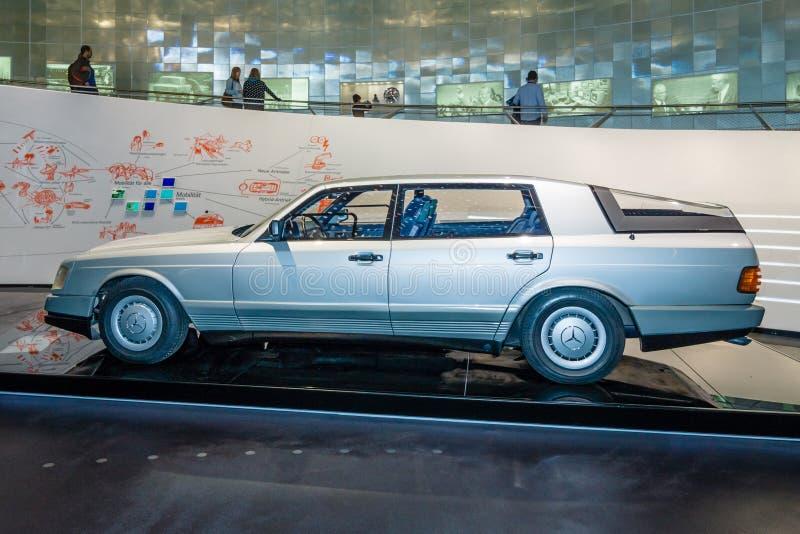 Автомобиль 2000 Мерседес-Benz автомобиля концепции, 1981 стоковые изображения